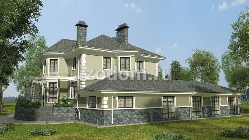 Дом по проекту Т 109