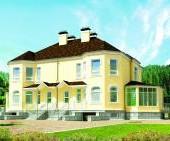 Проект дома на две семьи К 103Б Дуэт