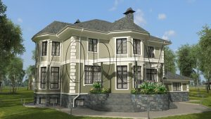 Проект дома из несъемной опалубки