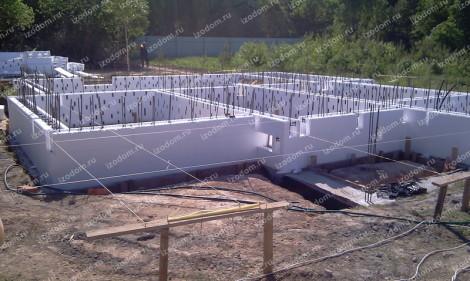 Монолитное строительство - несъемная опалубка