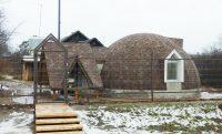 Креативный каменный дом.