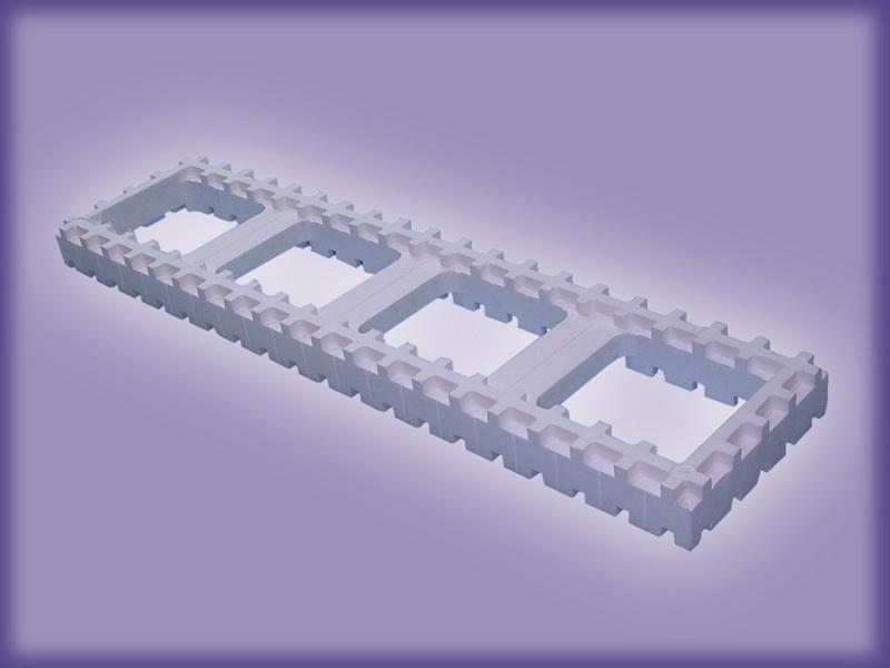 Модуль корректор (25 МК 1000х250х50)
