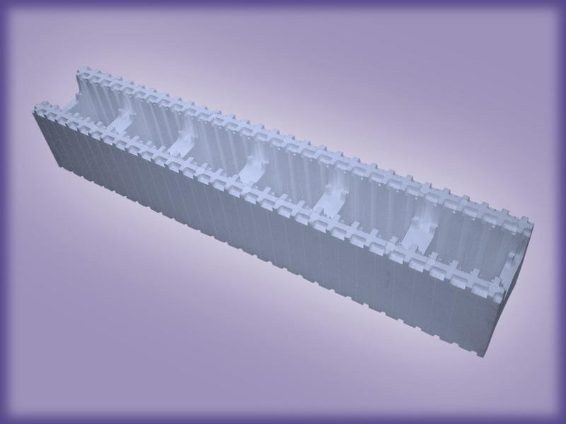 Модуль стеновой основной 25МСО-1,5  Плотностью 27 кг/м.куб