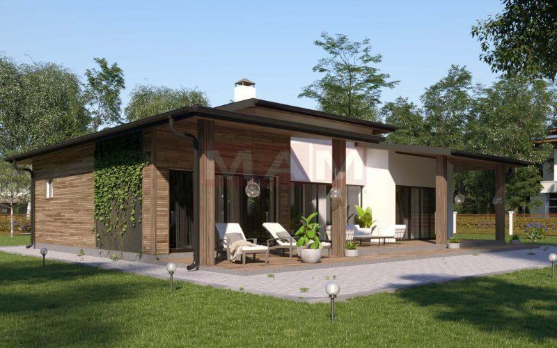 Проект дома Арес