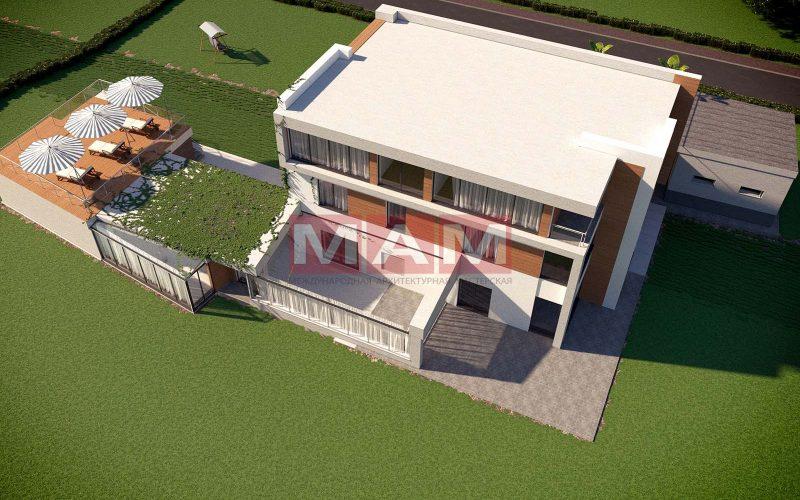 Проект дома Богута 2 вид с верху.
