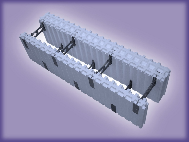 Модуль стеновой разборный серия 25МСР-1,5