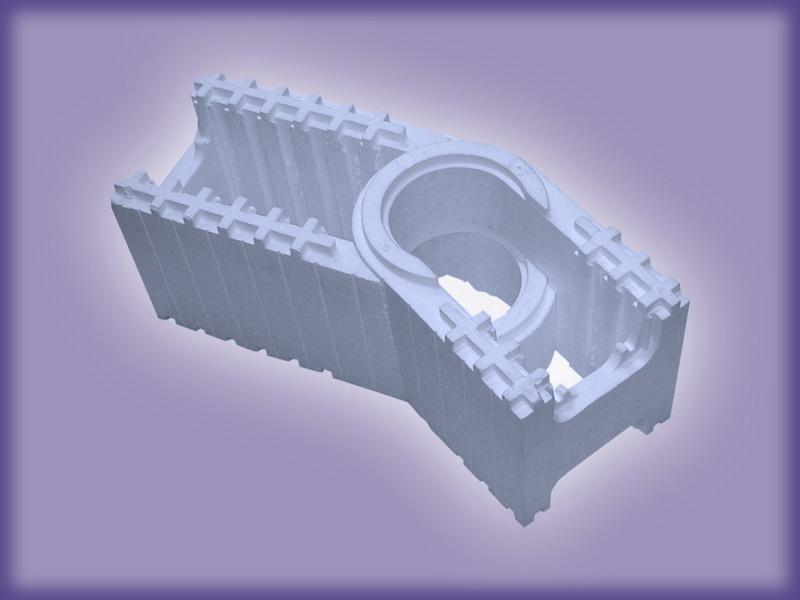 Модуль угловой поворотный (25 МУП 700х250х250)