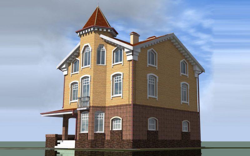 Проект дома ВК-4